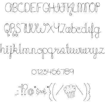 MTF Cupcake font