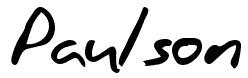 Paulson Regular font