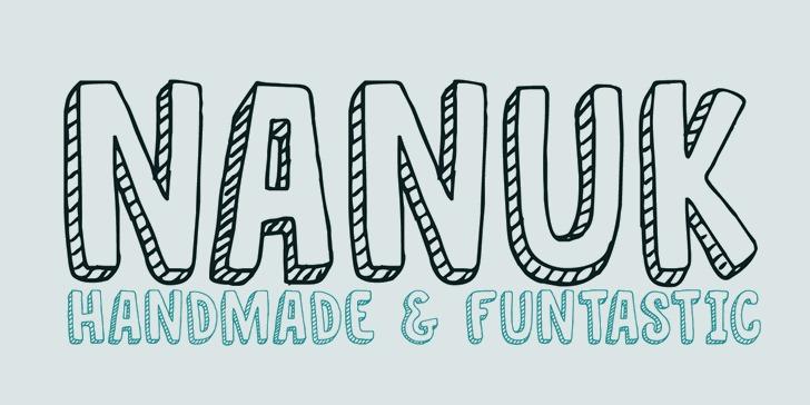 DK Nanuk font