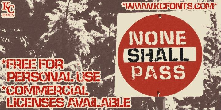 TNone Shall Pass