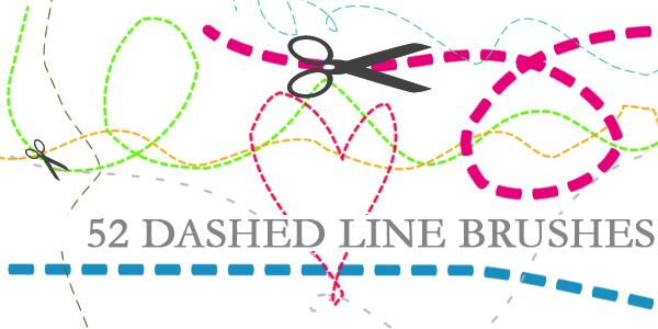 Dashed Line Brushes