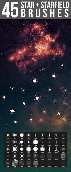 Starfield & Star Brushes