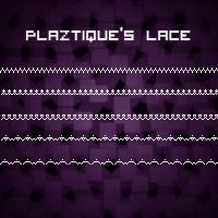 Plaztique's Lace Brushes