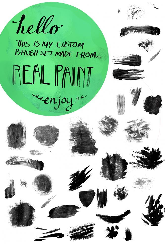 Jess's Acrylic Texture Brushes