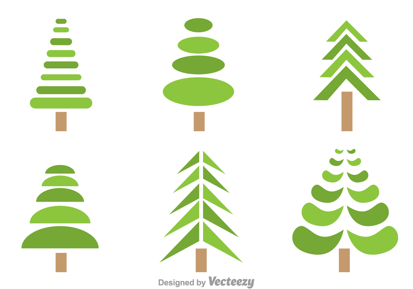 symmetrical tree vectors