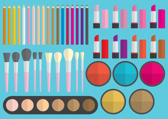 Makeup Vector Elements