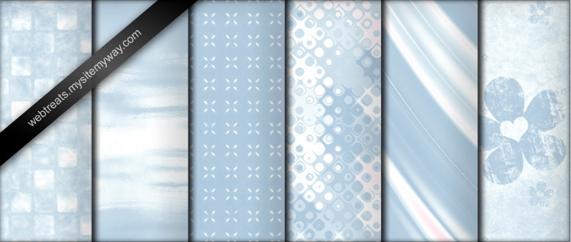 Seamless Baby Blue Photoshop Patterns