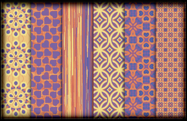 Fiesta Photoshop Patterns