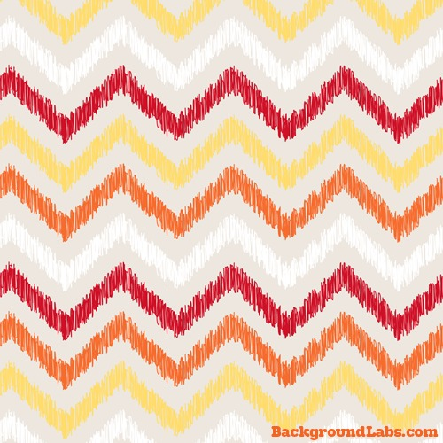Hand Drawn Zigzag Large Background
