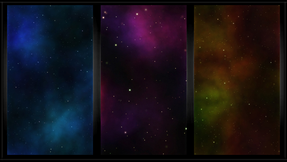ileable Classic Nebula Space Patterns