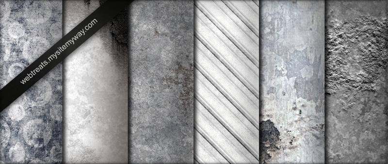 Tileable Whitewashed Grunge Textures