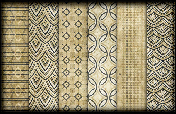 Grungy Beige Photoshop Patterns