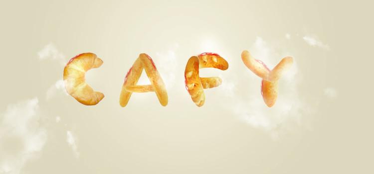 パンで文字をデザインする方法