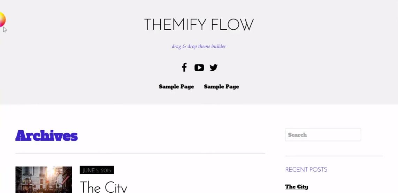 THEMIFY FLOW -WordPressテーマ-