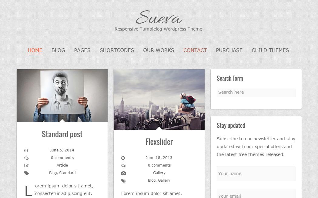 Sueva -WordPressテーマ-