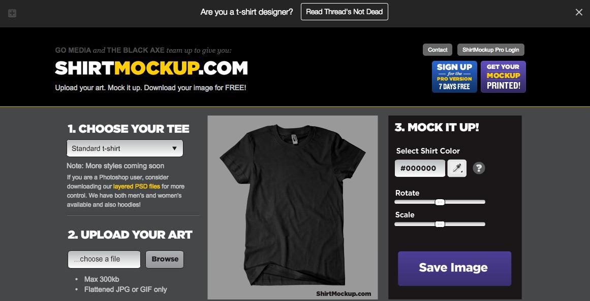 ShirtMockup