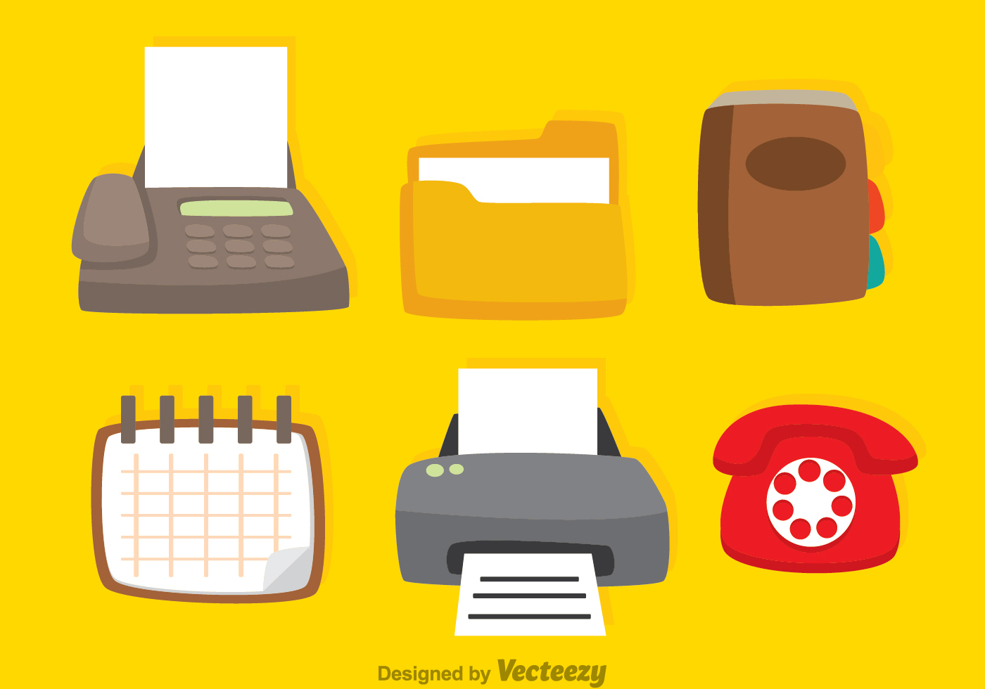 Vector Office Icons