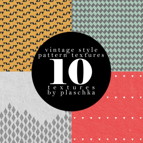 vintage style pattern textures