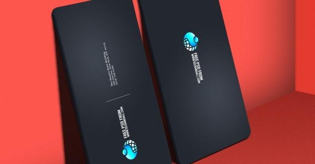 Business Card Showcase Mock up v.2 PSD