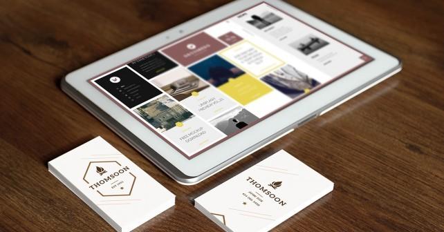 9+ Business Card | TABLET MOCKUP VOL 2