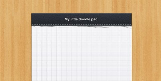 Little Notepad Design (PSD)