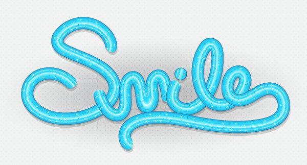 歯磨き粉で文字をデザインする方法