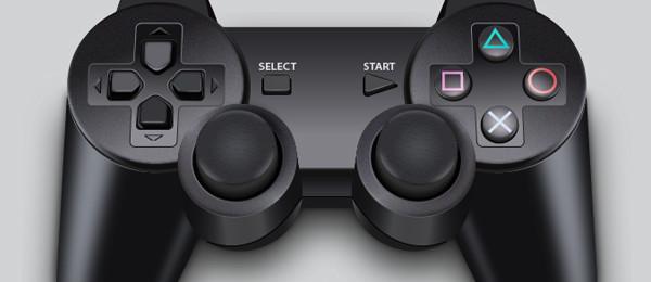 ゲームコントローラーをリアルに描く方法