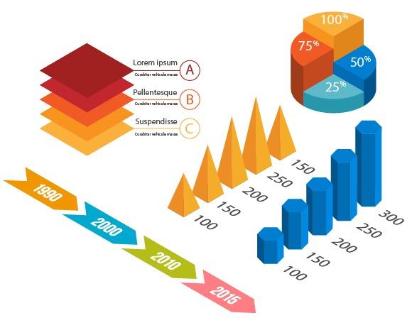 インフォグラフィック用のイラストをデザインする方法