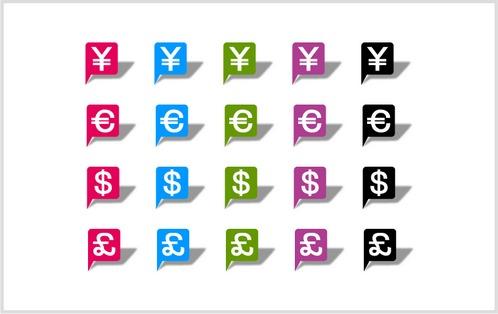 通貨記号のアイコン