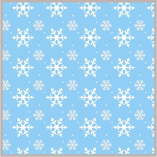 雰囲気抜群!!冬を彩る雪や景色のイラストレーターベクター素材