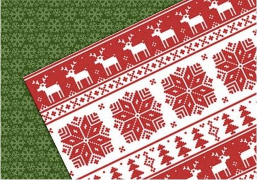 クリスマス用シームレスパターン素材いろいろ