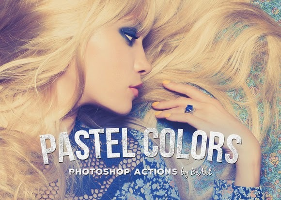 Free Pastel Colors Actions