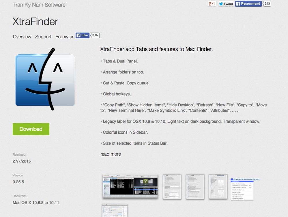 XtraFinder
