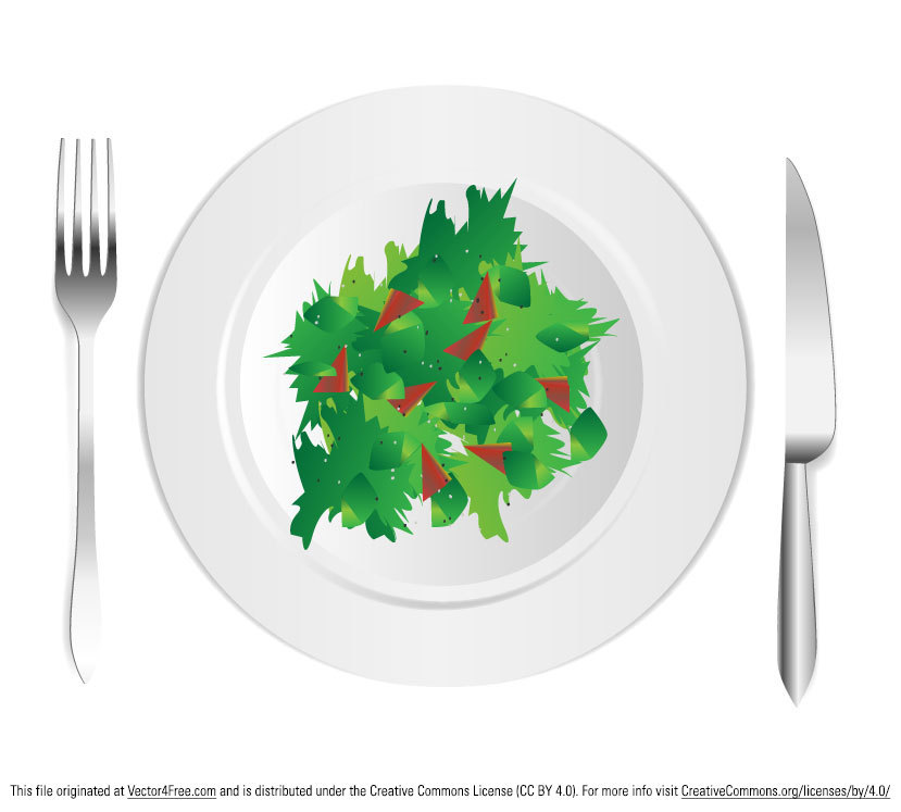 Free Salad Vector Design