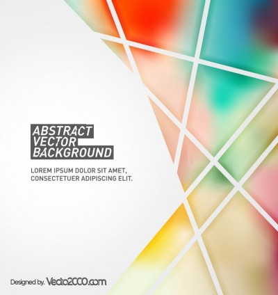Vector Abstract Background with Geometric