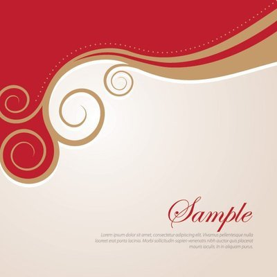 Golden Swirls Abstract Background