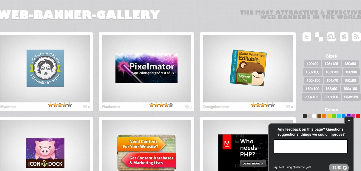 Web Banner Gallery