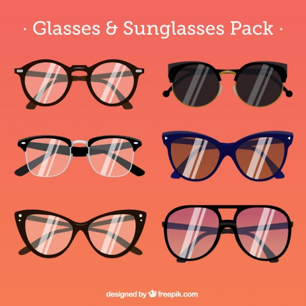 stylized glasses collection
