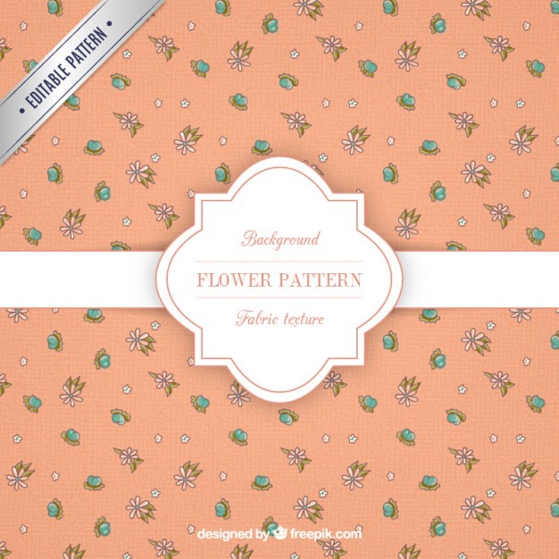 Cute flower pattern
