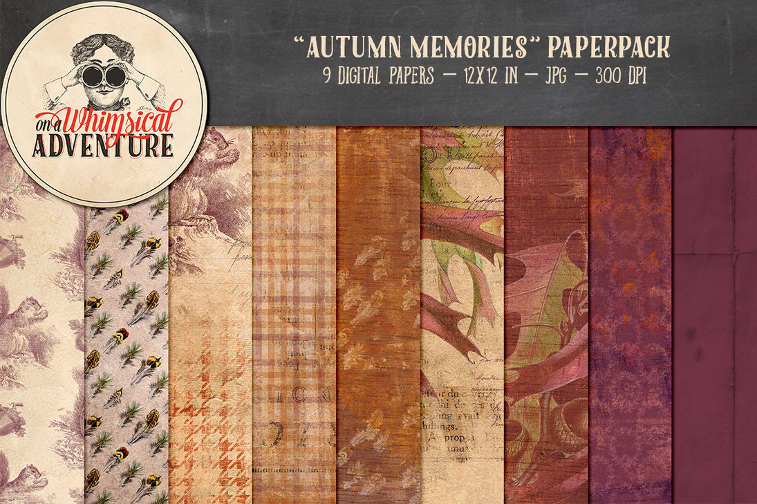 Autumn Memories Papers