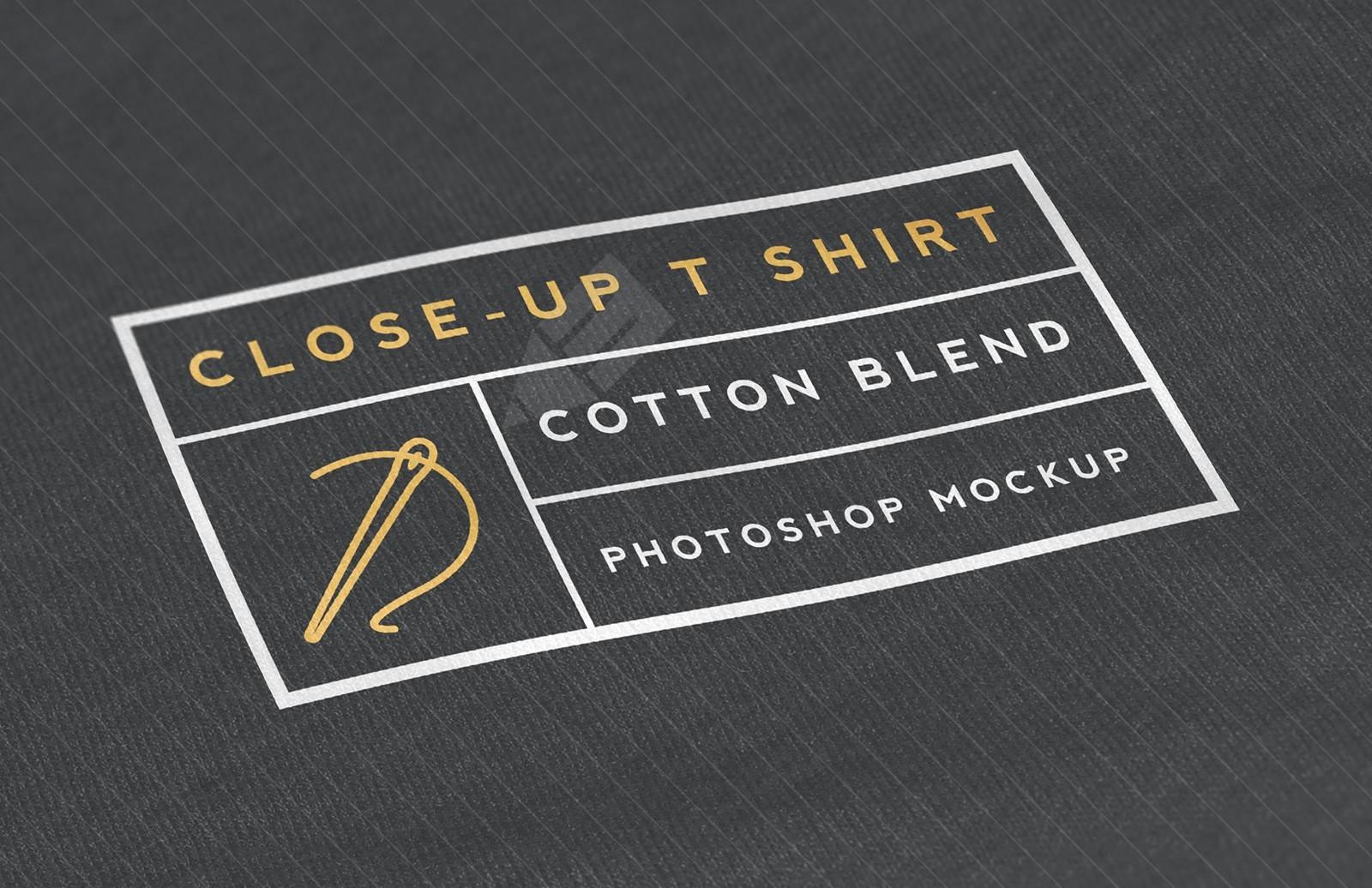 Close-Up T Shirt Mockup