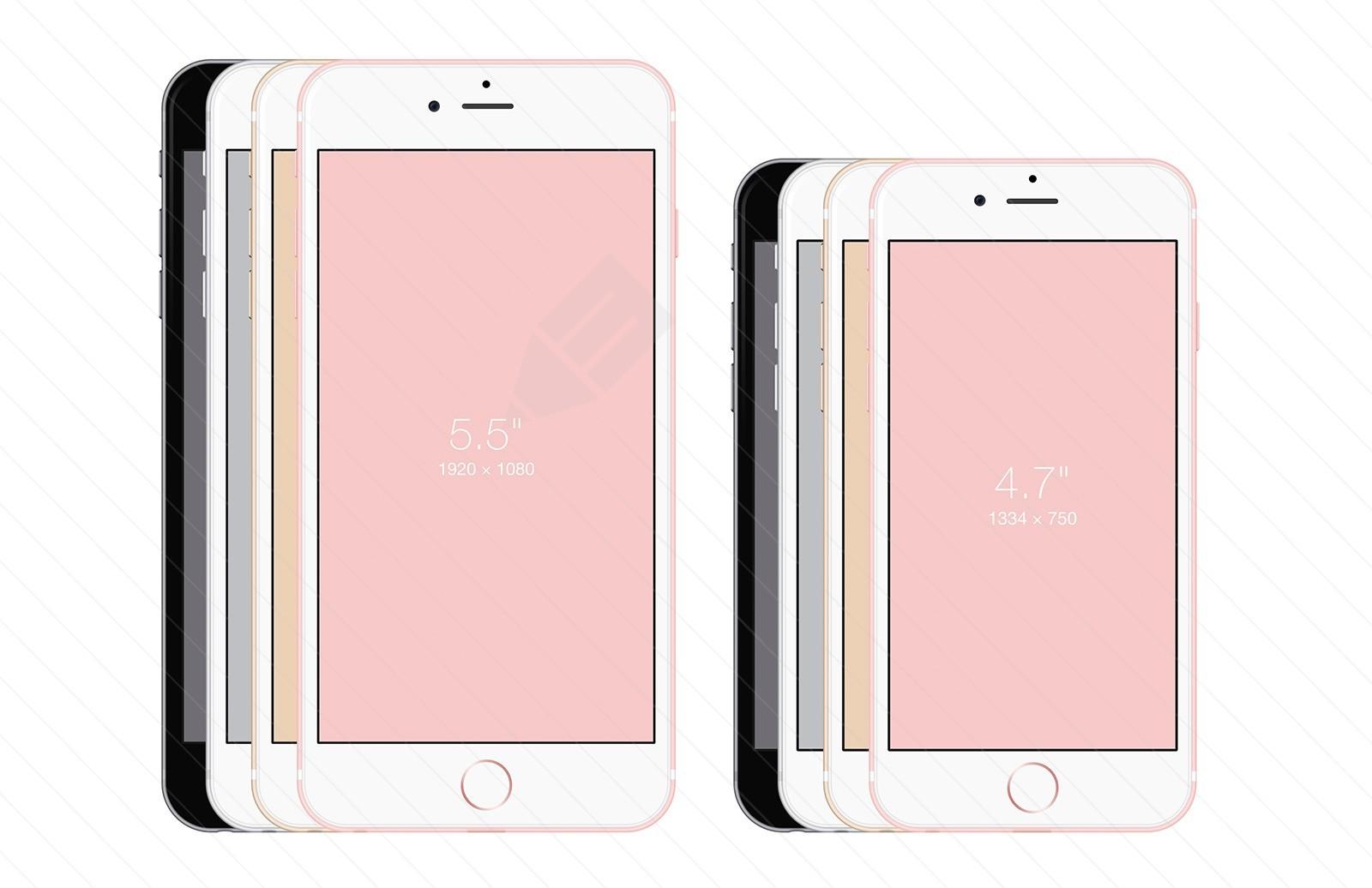 iPhone 6S - Free PSD Mockup