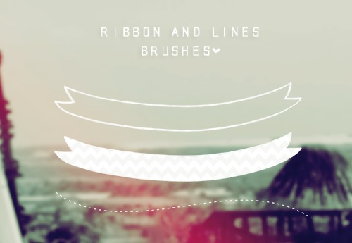Ribbon and Lines brushes