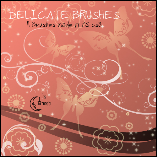 Delicate Brushes PS