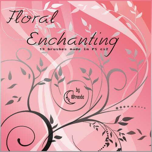Flora Enchantig I Brushes