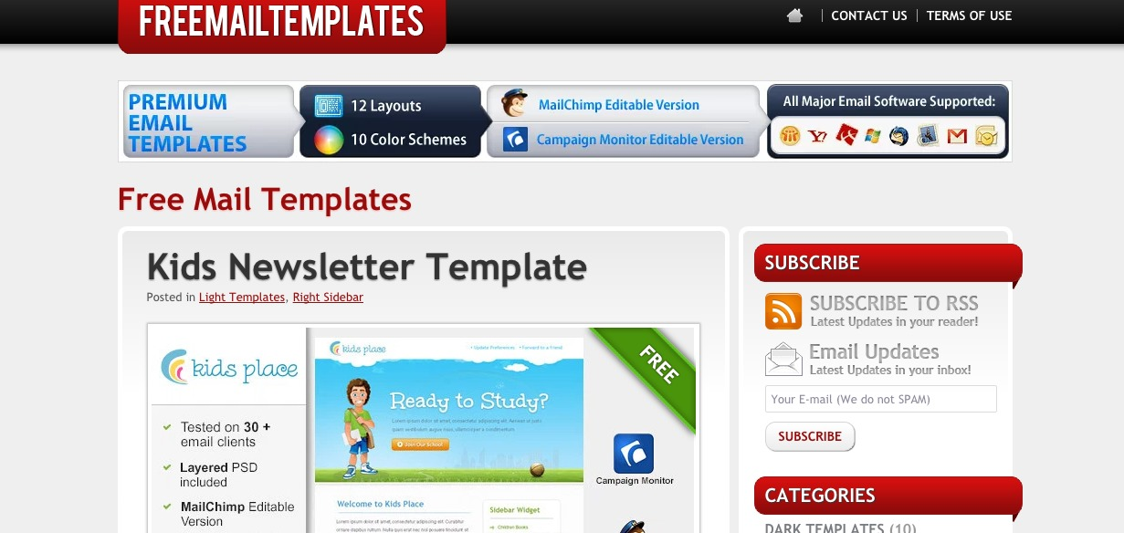 Free Mail Templates