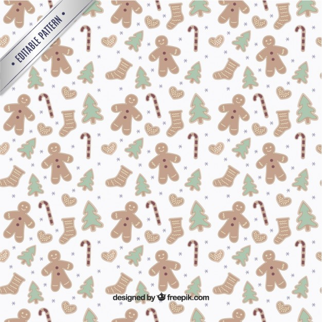 christmas elements pattern