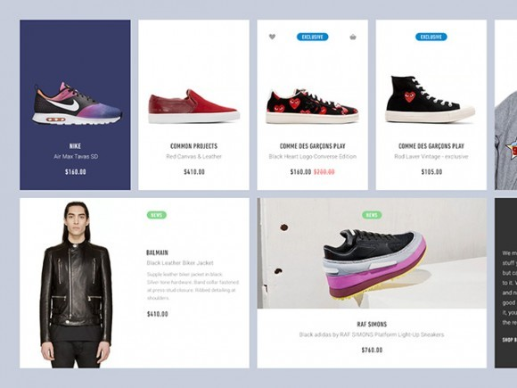 Ecommerce UI blocks