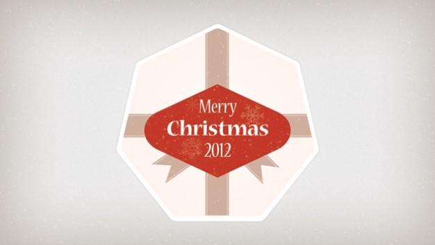 Christmas Badge
