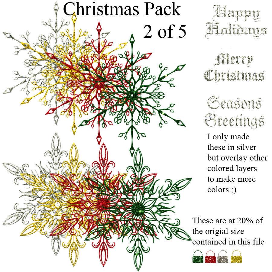 Christmas pack 2 of 5 - Stars